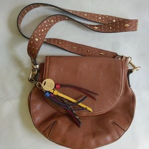 Call it Spring crossbody leather bag